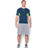 Under Armour Men's HeatGear CoolSwitch Compression Short Sleeve Shirt - Blackout Navy: Image 3