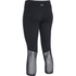 Under Armour Women's Mirror Colour Block Crop Leggings - Black: Image 2