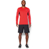 Under Armour Men's CoolSwitch Run Long Sleeve Top - Red: Image 3