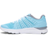 Under Armour Women's Micro G Speed Swift Running Shoes - Blue/White: Image 5