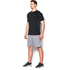 Under Armour Men's Raid Short Sleeve T-Shirt - Black/Grey: Image 4