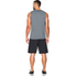 Under Armour Men's Tech Sleeveless T-Shirt - Grey: Image 5
