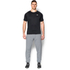 Under Armour Men's Tri-Blend Fleece Jogger Trousers - Light Grey: Image 3