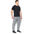 Under Armour Men's Tri-Blend Fleece Jogger Trousers - Light Grey: Image 4