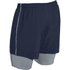 Under Armour Men's Mirage 2 in 1 Training Shorts - Navy Blue: Image 2