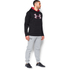 Under Armour Men's Storm Armour Fleece Big Logo Twist Hoody - Black: Image 4