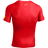 Under Armour Men's Flash Compression Short Sleeved T-Shirt - Red: Image 2