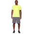 Under Armour Men's Streaker Run Short Sleeve T-Shirt - Yellow: Image 3