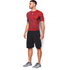Under Armour Men's HeatGear CoolSwitch Compression Short Sleeve Shirt - Red: Image 4