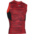 Under Armour Men's HeatGear CoolSwitch Compression Tank Top - Red: Image 1