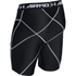 Under Armour Men's HeatGear Armour Compression Shorts - Black: Image 2