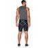 Under Armour Men's HeatGear Armour Compression Shorts - Black: Image 5