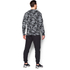 Under Armour Men's Storm Rival Fleece Printed Crew Sweatshirt - Grey: Image 5