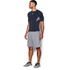 Under Armour Men's HeatGear CoolSwitch Compression Short Sleeve Shirt - Navy Blue: Image 4