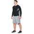 Under Armour Men's HeatGear CoolSwitch Compression Baselayer - Black: Image 4
