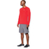 Under Armour Men's Streaker Long Sleeve T-Shirt - Red: Image 4