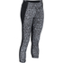 Under Armour Women's Mirror Printed Crop Leggings - Black: Image 1