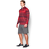 Under Armour Men's Tech Printed 1/4 Zip Long Sleeve Top - Red: Image 4