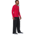 Under Armour Men's ColdGear Armour Compression Long Sleeve Crew Top - Red: Image 4