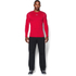 Under Armour Men's ColdGear Armour Compression Long Sleeve Crew Top - Red: Image 3