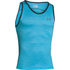 Under Armour Men's Tech Tank Top - Meridian Blue/Graphite: Image 1