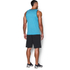 Under Armour Men's Tech Tank Top - Meridian Blue/Graphite: Image 5