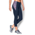 Under Armour Women's Mirror Printed Crop Leggings - Navy Blue: Image 3