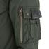 4Bidden Men's Impact Longline Bomber Jacket - Khaki: Image 4