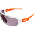POC DO Half Blade AVIP Sunglasses - Hydrogen White/Zinc Orange: Image 1