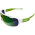 POC DO Blade Raceday Sunglasses - Hydrogen White/Cannon Green: Image 1