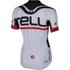 Castelli Meta Short Sleeve Jersey - White/Black: Image 2