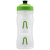 Fabric Cageless Water Bottle (600ml) - Clear/Green: Image 2