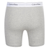 Calvin Klein Men's 2 Pack Boxer Briefs - Black/Grey Heather: Image 3