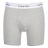 Calvin Klein Men's 2 Pack Boxer Briefs - Black/Grey Heather: Image 2