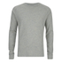Jack & Jones Men's Core Inc Long Sleeve T-Shirt - Light Grey Marl: Image 1