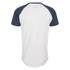 Jack & Jones Men's Originals Stan Raglan Sleeve T-Shirt - Navy/White: Image 2