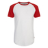 Jack & Jones Men's Originals Stan Raglan Sleeve T-Shirt - Formula One/White: Image 1