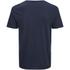 Jack & Jones Herren Originals Raw Stripe Pocket T-Shirt - Dark Blau Denim: Image 2