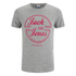 Jack & Jones Herren Originals Copenhagen T-Shirt - Light Grau Marl: Image 1