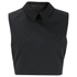 McQ Alexander McQueen Women's Collar Party Top - Black: Image 1