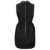 McQ Alexander McQueen Women's Studded Collar Party Dress - Black: Image 4