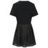 McQ Alexander McQueen Women's Bustier T-Shirt Dress - Black: Image 2