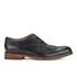 Hudson London Men's Keating Leather Brogue Shoes - Black: Image 1