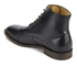 Hudson London Men's Seymour Leather Toe Cap Lace Up Boots - Black: Image 4