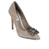 Dune Women's Breanna Suede Court Shoes - Mink: Image 2