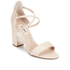 Dune Women's Maybell Leather Block Heeled Sandals - Nude: Image 2