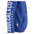 Soul Cal Men's Sleeve Print Logo Zip Through Hoody - Cobalt Blue: Image 4