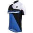 Santini Air Form Short Sleeve Jersey - Blue: Image 1