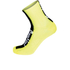 Santini Flag High Profile Coolmax Socks - Yellow: Image 1