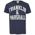 Franklin & Marshall Men's Large Logo T-Shirt - Navy: Image 1